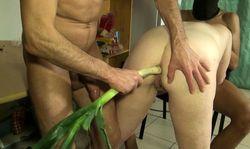 German mature woman spanking